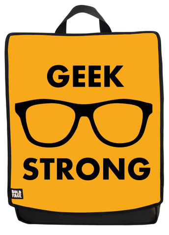 Geek Strong (Yellow) Backpack