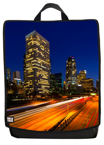 Los Angeles at Night Backpack