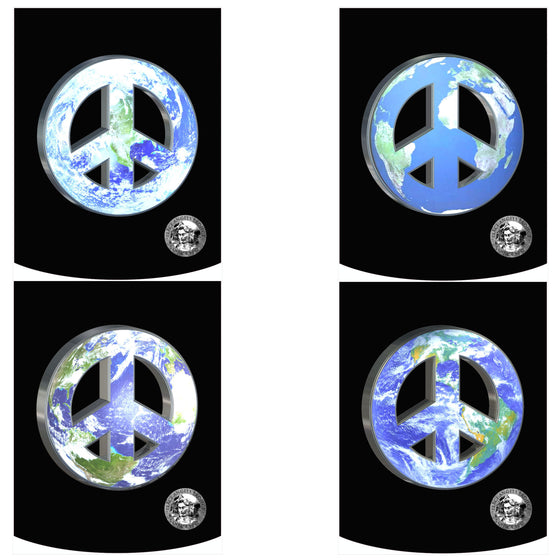 "Peace Angels ""Peace on Earth - 4 Pack"" Backpack"