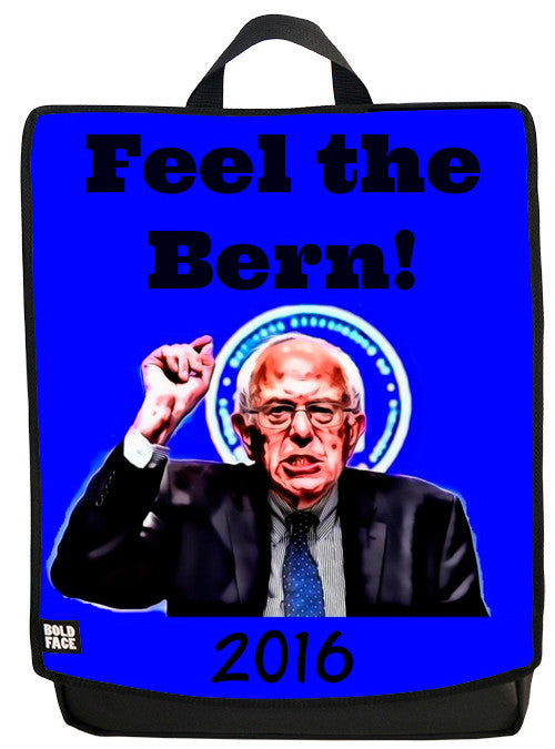 Feel the Bern! Backpack Face Panel