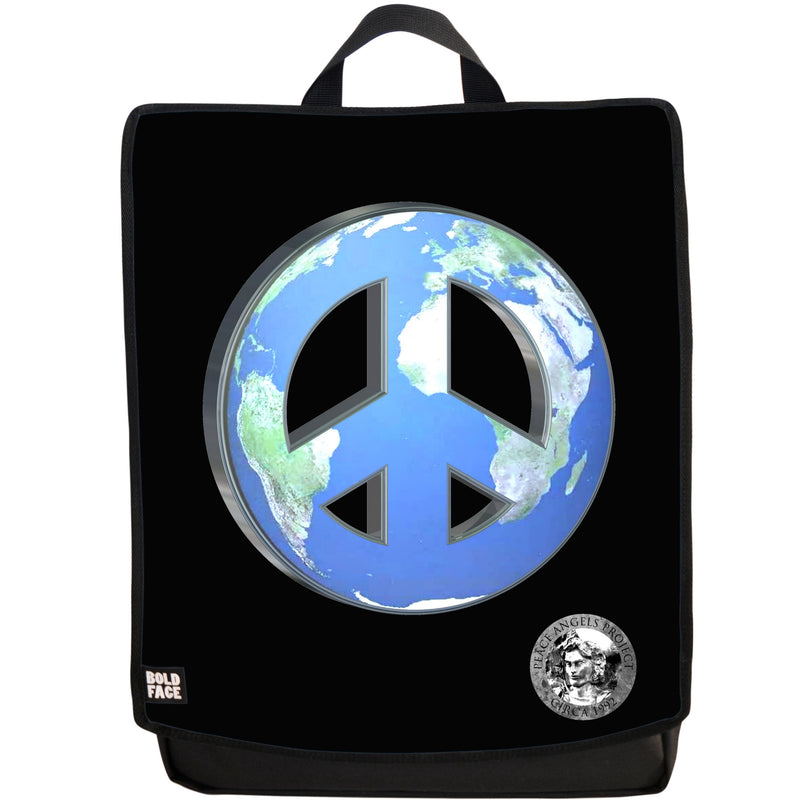 "Peace Angels ""Peace on Earth - Cloudless"" Backpack"