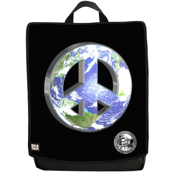 "Peace Angels ""Peace on Earth - Continents"" Backpack"