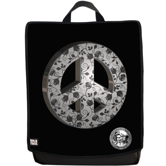 "Peace Angels ""Peace Flowers"" Backpack"