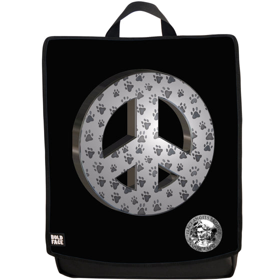 "Peace Angels ""Peace Paws"" Backpack"