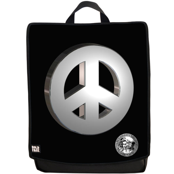 Peace Angels Silver One Backpack