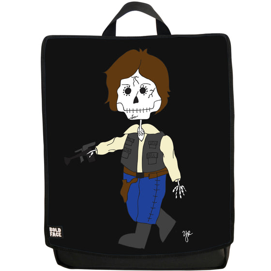 Han Solo Day of the Dead Backpack (Black)