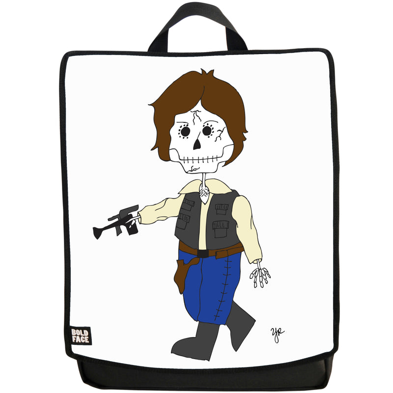 Han Solo Day of the Dead Backpack (White)