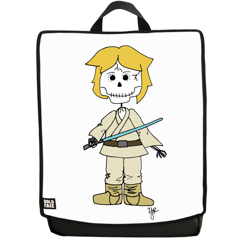Luke Skywalker Day of the Dead Backpack (White)