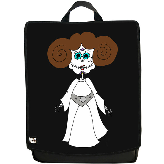 Princess Leia Day of the Dead Backpack (Black)