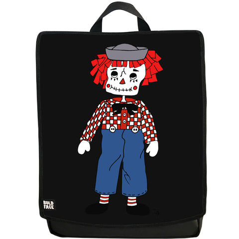 Raggedy Andy Day of the Dead Backpack (Black)