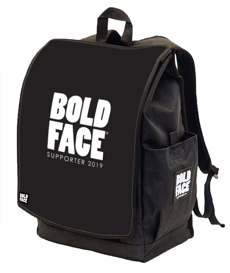BOLDFACE Backpack w/ Supporter 2019 FACE