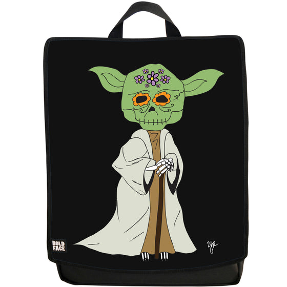 Yoda Day of the Dead Backpack (Black)