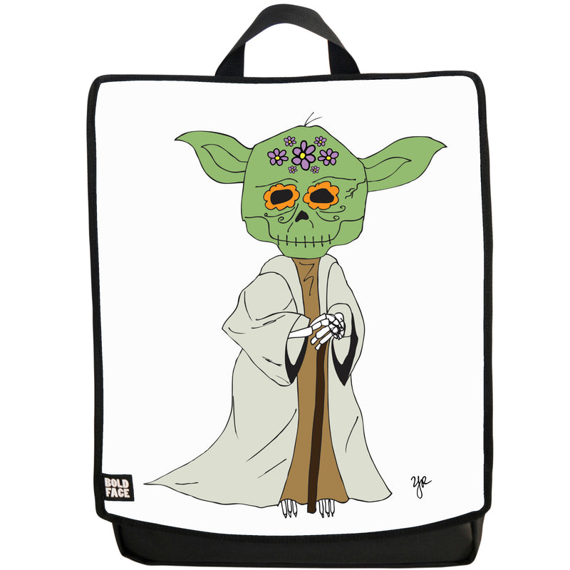 Yoda Day of the Dead Backpack (White)