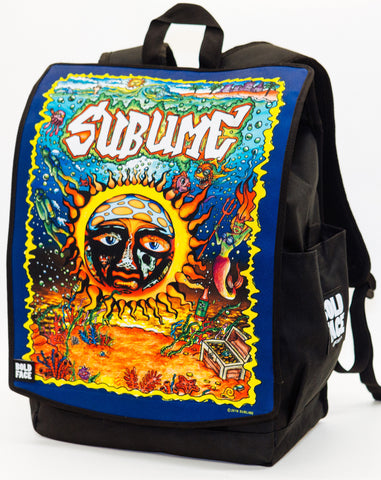 Sublime Underwater Sun Logo Backpack