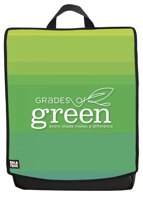 Grades of Green Backpack Face Panel