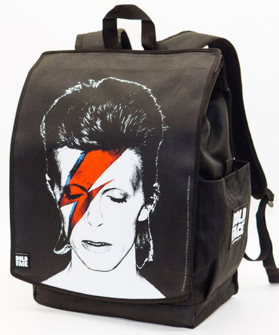 David Bowie - Aladdin Sane Backpack | BOLDFACE
