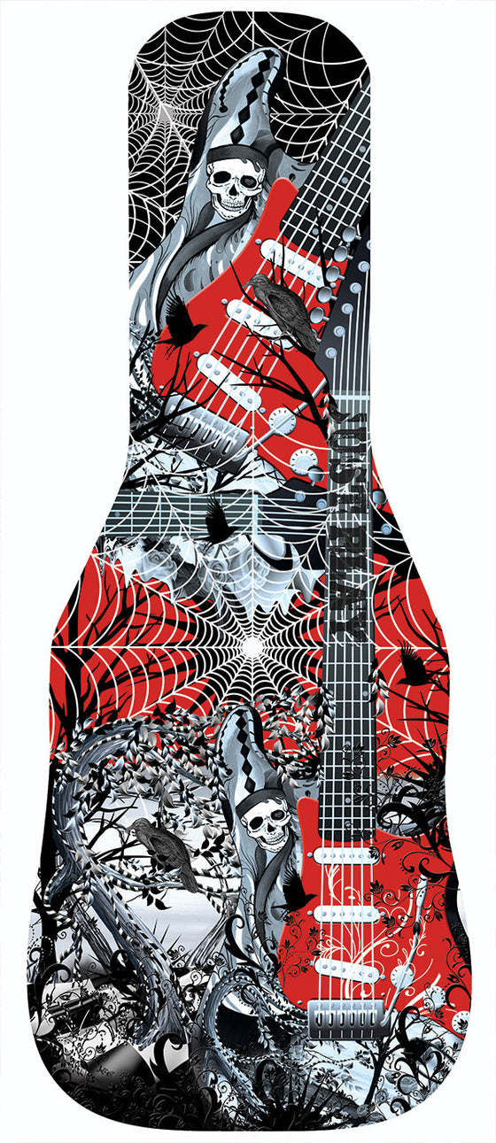 SkelSkull Tree Guitar Bag