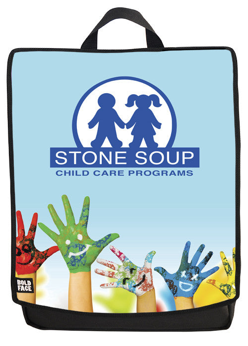 Stone Soup Child Care Backpack Face Panel