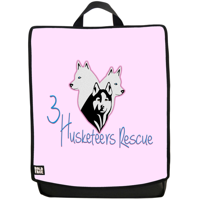 3 Husketeers Backpack (Pink)