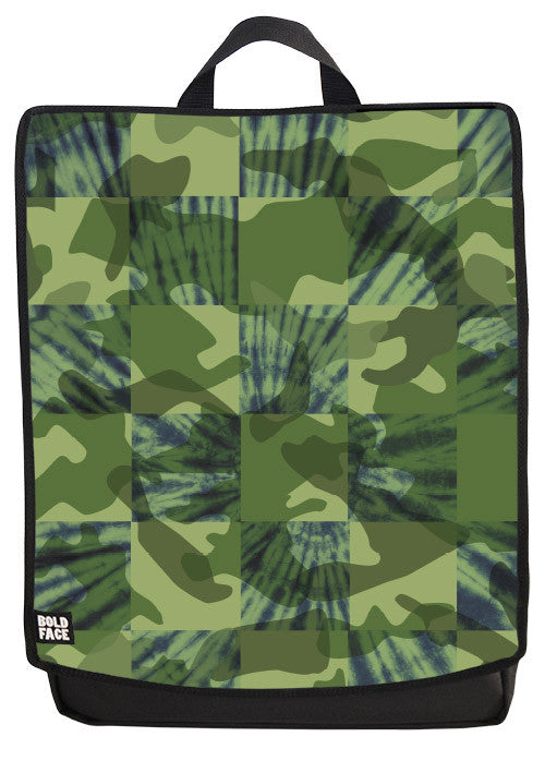 Tie Dye Camo Backpack