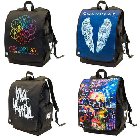 Coldplay Backpack 4-Face-Pack Backpack