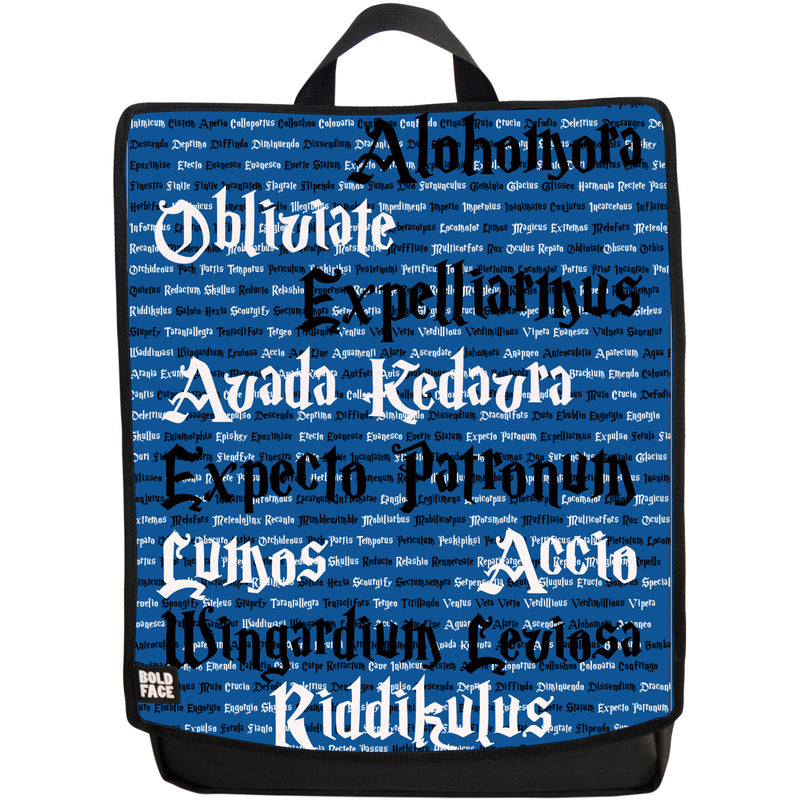 Spells for Wizards and Witches Backpack (Blue)