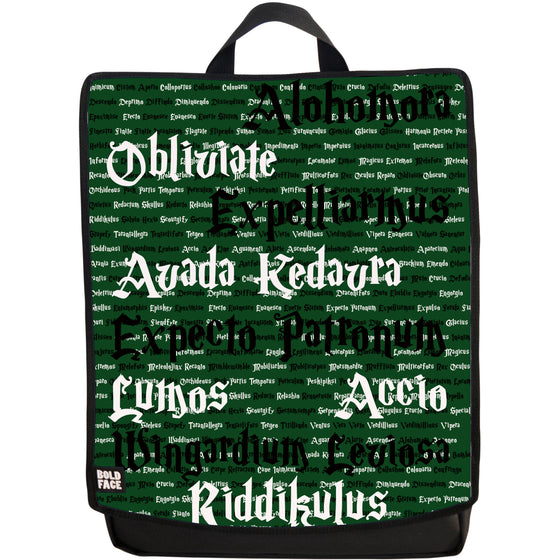 Spells for Wizards and Witches Backpack (Green)