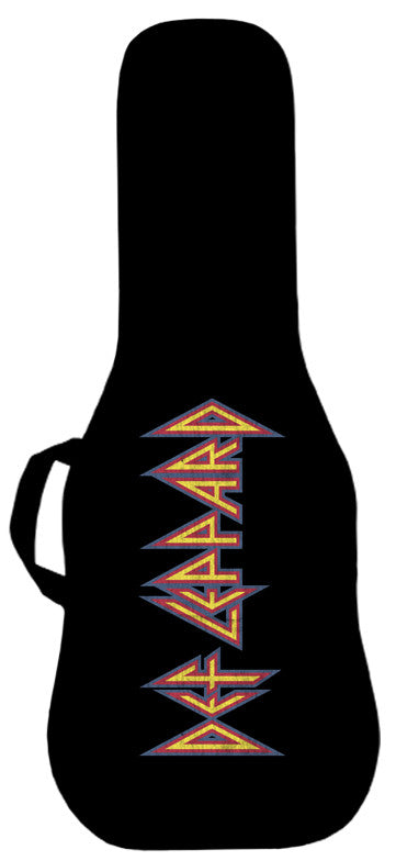 Def Leppard Official Logo Guitar Bag Face Panel