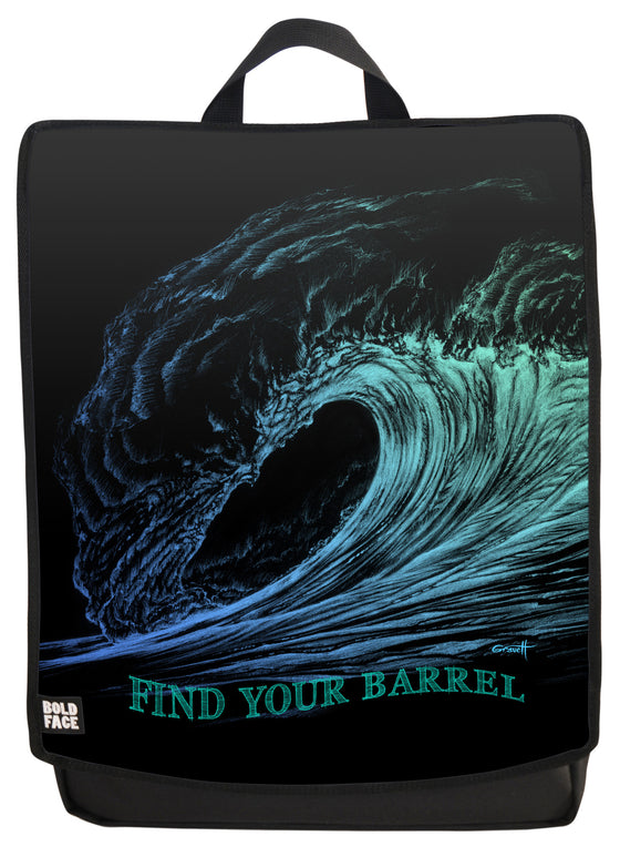 Find Your Barrel Backpack Face Panel