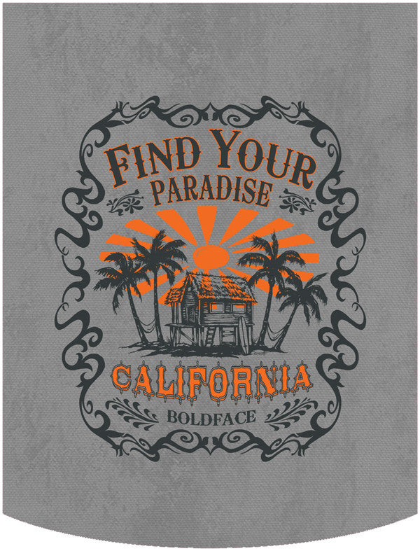 Find Your Paradise 1 Backpack Face Panel