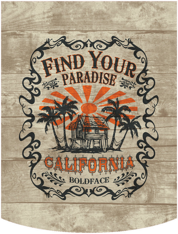 Find Your Paradise 2 Backpack Face Panel