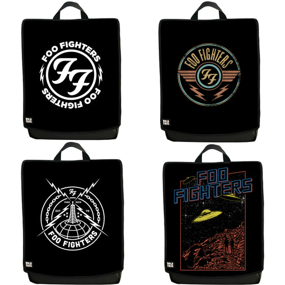 Foo Fighters Four-Pack! - One Backpack with Four Interchangeable Faces