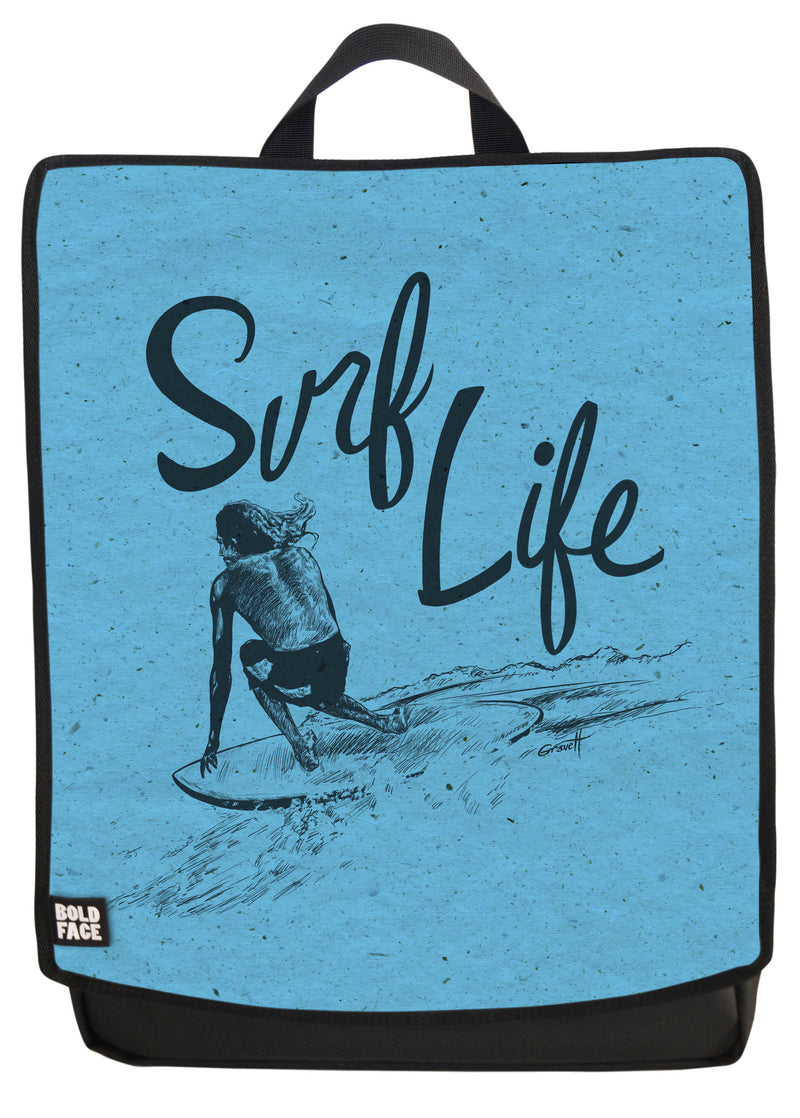 Surf Life Backpack Face Panel