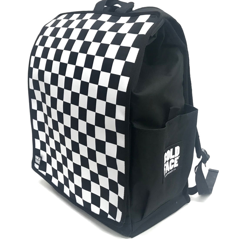 Black White Checkered Backpack Fast Times Ridgemont High Jeff Spicoli Vans