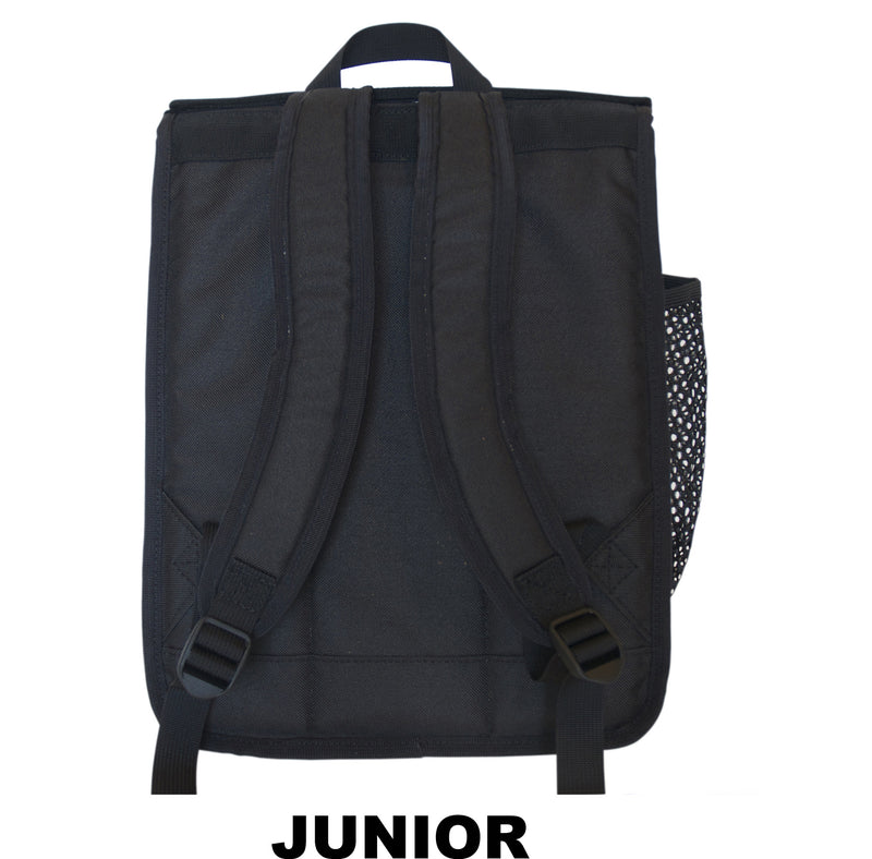 Triangles Print Backpack