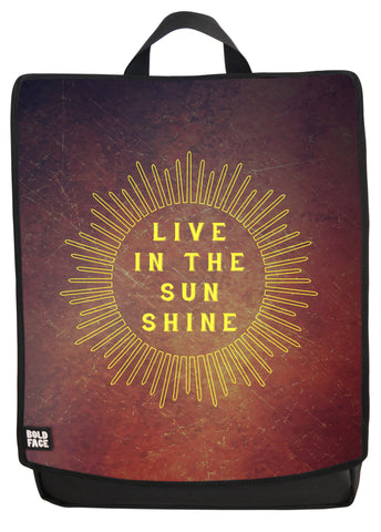 Live in the Sunshine Backpack