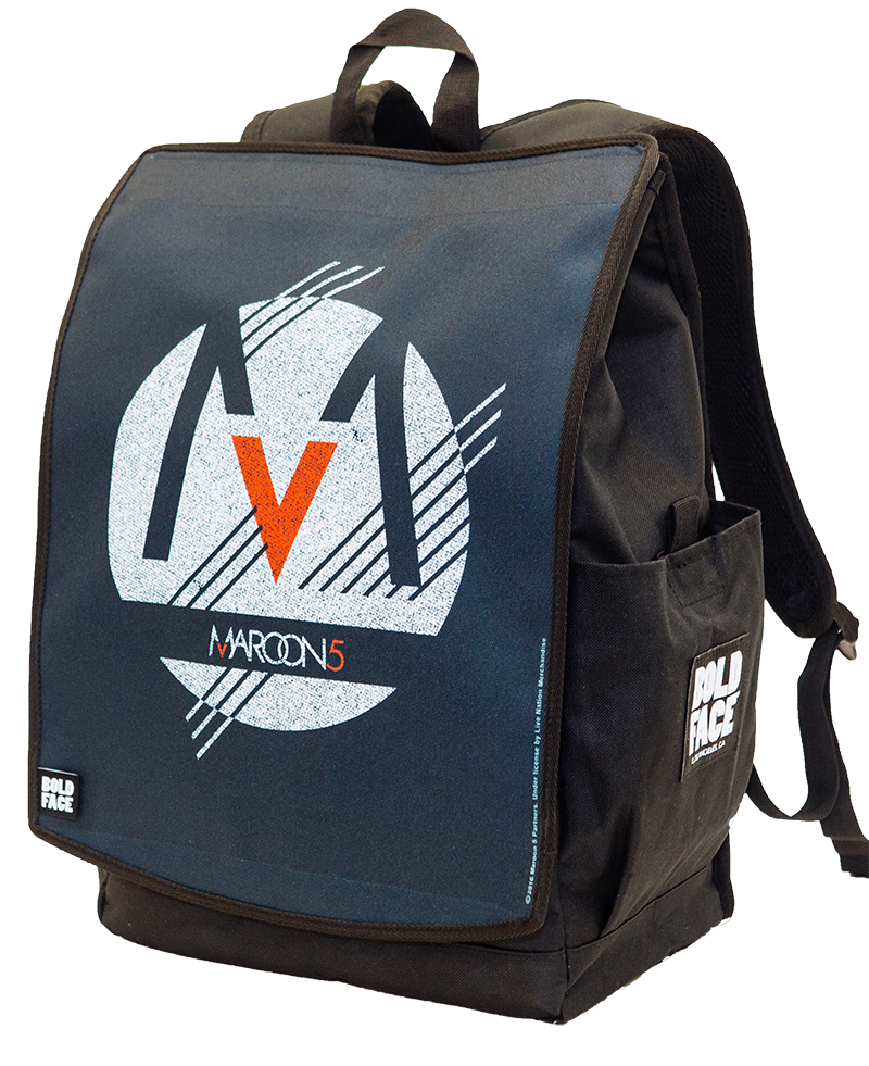 Maroon 5 Blue Logo Backpack