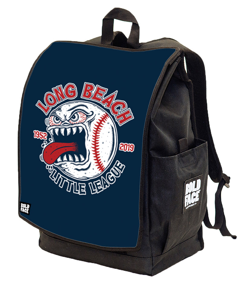 Long Beach Little League - 2019 Crazy Ball Logo Backpack