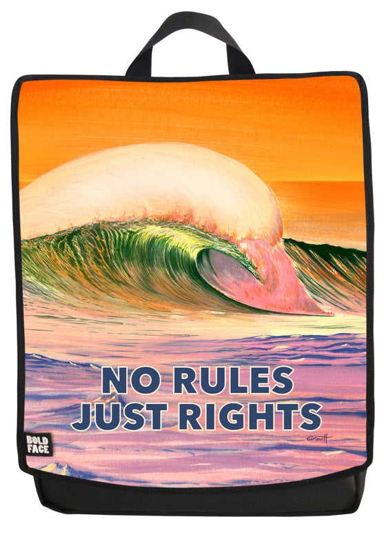 No Rules Just Rights Backpack
