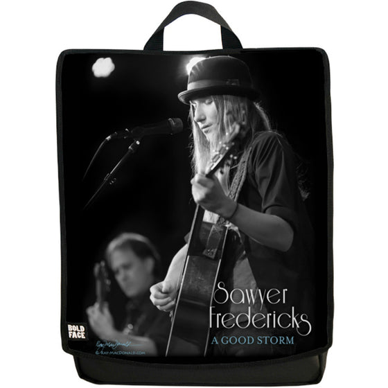 Sawyer Fredericks Live (Profile Black/White) Backpack