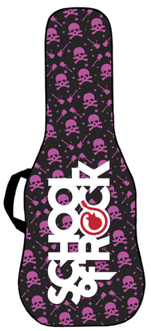 School of Rock - Skulls and Riffs Pink Gig Bag