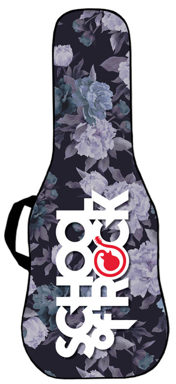 School of Rock - Rocking Flowers Guitar Bag Face Panel