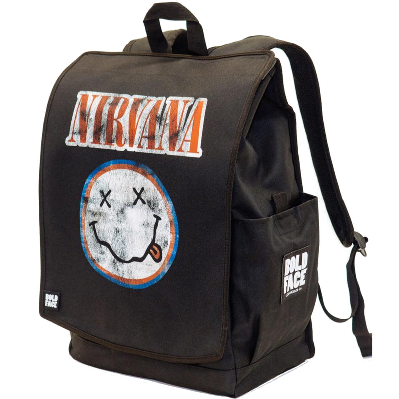 Nirvana Three Pack - One BOLDFACE Backpack & Three Nirvana Printed Face Panels