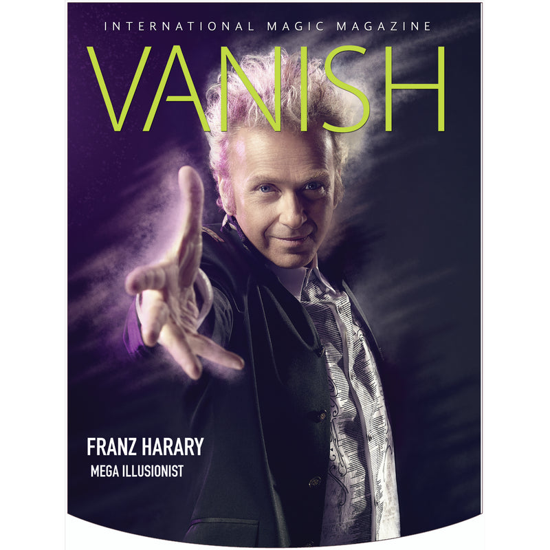 Vanish Magazine Cover - Franz Harary