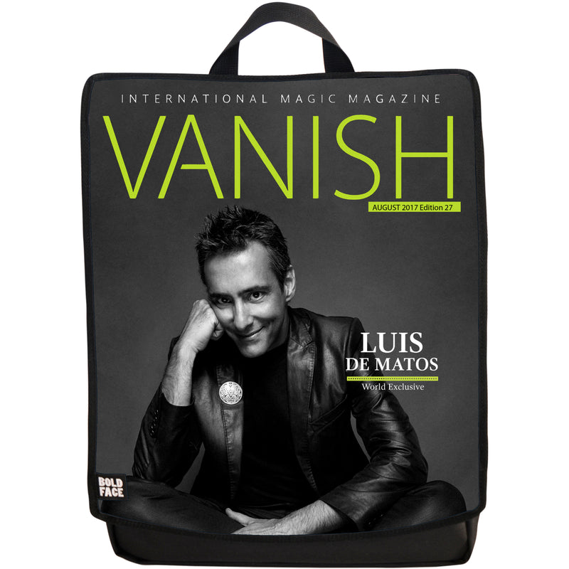 Vanish Magazine Cover - Luis De Matos
