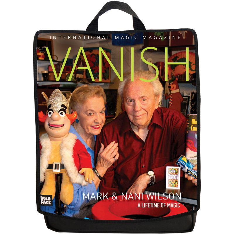 Vanish Magazine Cover - Mark and Nani Wilson