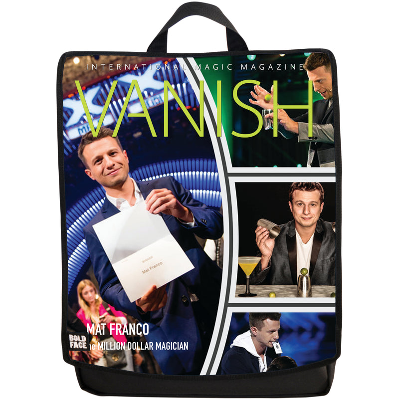 Vanish Magazine Cover - Mat Franco