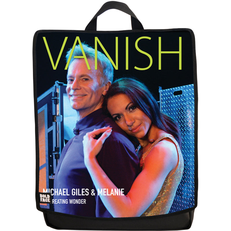 Vanish Magazine Cover - Michael Giles and Melanie