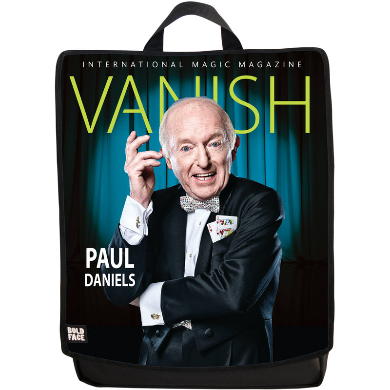 Vanish Magazine Cover - Paul Daniels