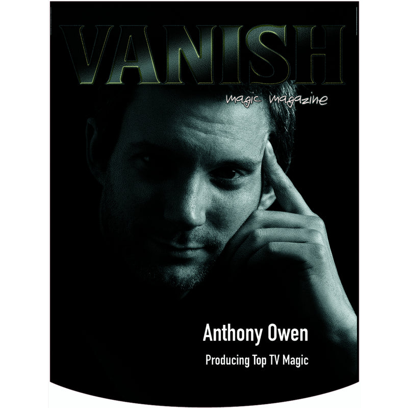 Vanish Magazine Cover - Anthony Owen